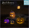 {what next} Jack O Lanterns for Fifty Linden Friday