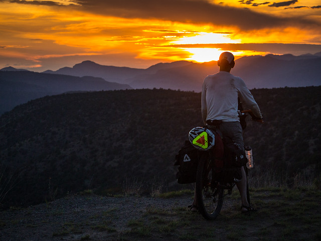 Sunset in the Gila