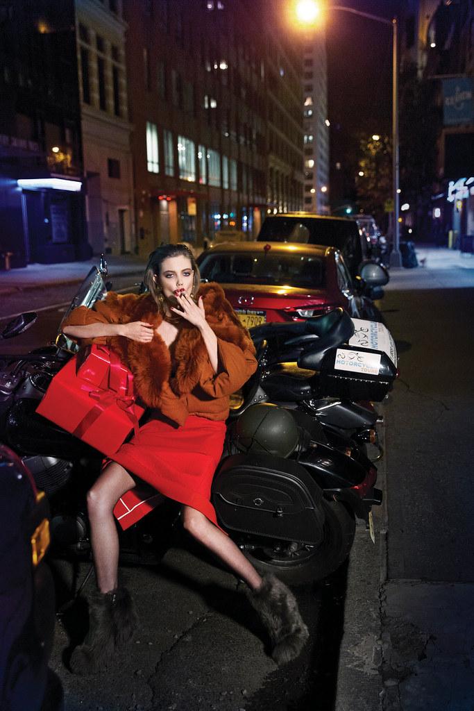 Линдси Виксон — Фотосессия для «Vogue» KR 2015 – 4
