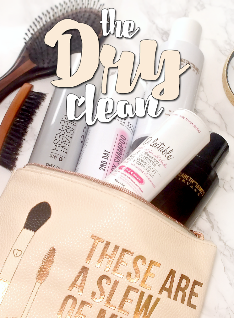the dry clean dry shampoo wardrobe