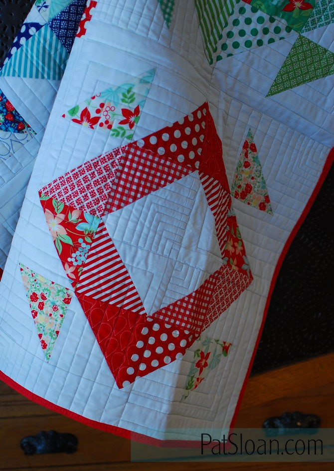 Pat Sloan Triangle book Boden quilt 2