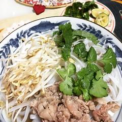 pho bo(beef noodle soup)♡  #pho #vietnamese #soup #japan