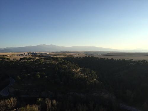 Sierra Guadarrama from Segovia
