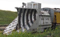 Union Pacific Railroad # 900016 wedge snowplow 1