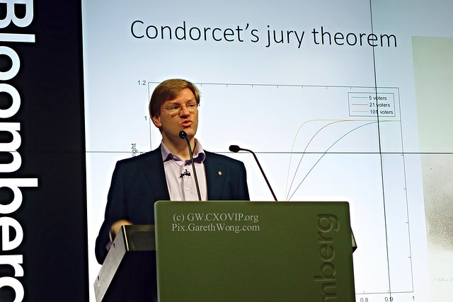 Anders Sandberg James Martin Research Fellow at the Future of Humanity Institute, Faculty of Philosophy and Oxford Martin School, University of Oxford on Condorcet's jury theorem from RAW _DSC6404