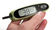 glucometer reading 38