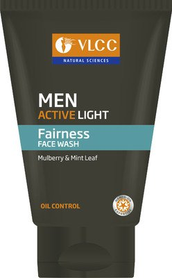 Best Face Wash For Men In India - VLCC Men Active Light Fairness Face Wash