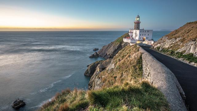 Baily lighthouse - Dublin, Ireland - Seascape photography