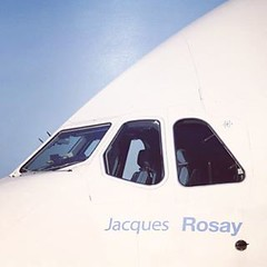 Airbus pays homage to Jacques Rosay with the naming of its no. 1 A380: #aviation #aircraft #airbus #airbusa380 #a380 #testpilot