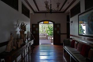 Vigan - Hotel Veneto hallway