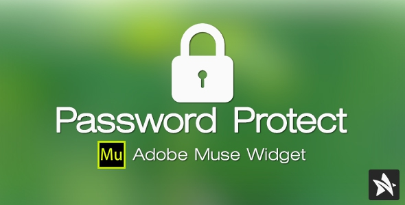 CodeCanyon Password Protect Widget for Adobe Muse