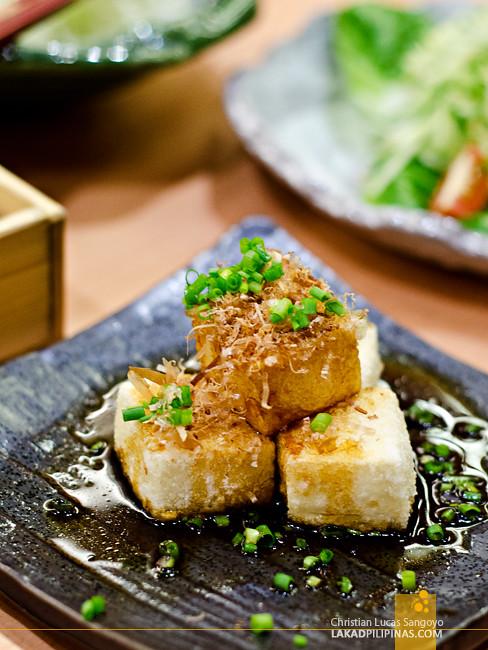 Saboten Glorietta Agedashi Tofu