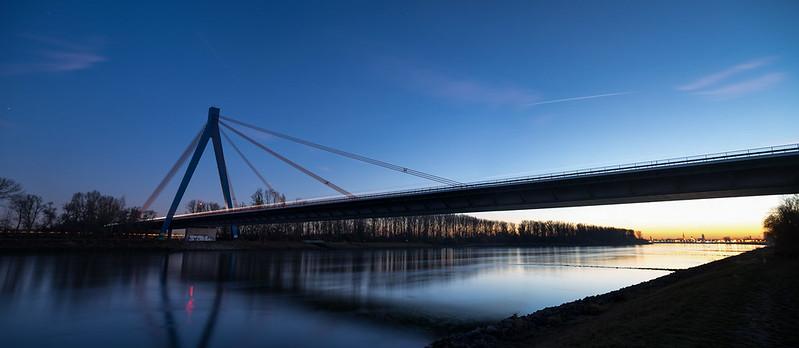 Autobahnbrücke A61 bei Speyer