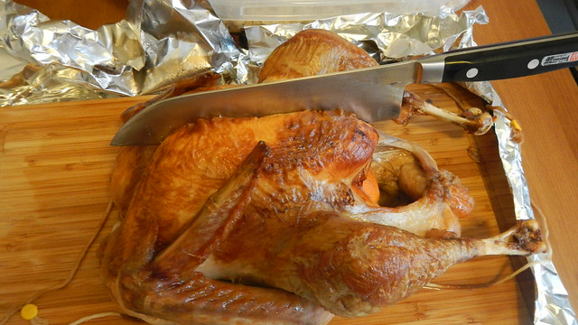 Carving a Turkey 5