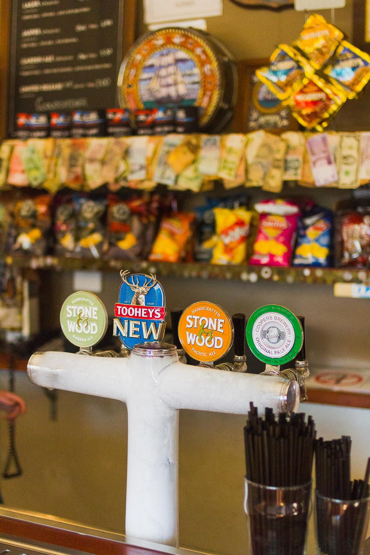 beer pumps australian bar