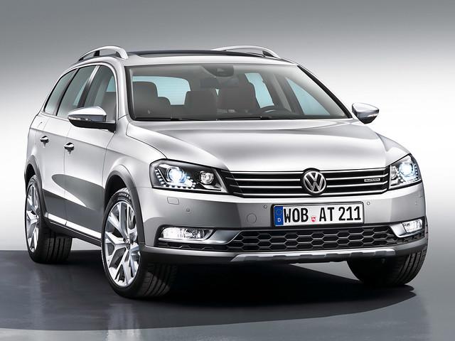 Универсал Volkswagen Passat Alltrack (B7). 2012 - 2014 годы