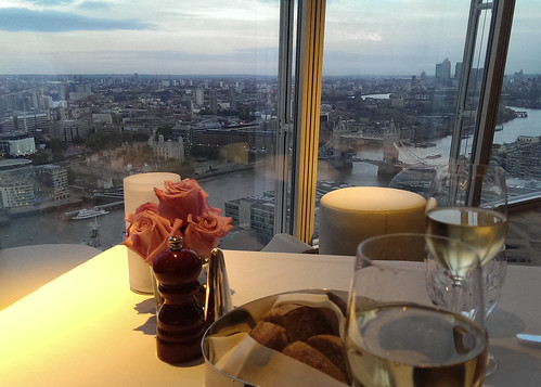 Dinner at the Shard