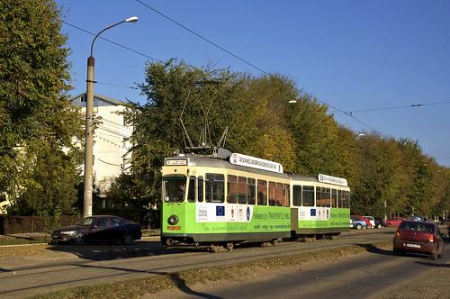 tram romania bern streetcar sws iasi ratp 151 linie3 625 rumänien trambahn tramvai iași strasenbahn ratc be44 vierachser standardwagen ratpiasi