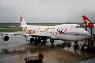 Japan Airlines - JAL Super Resort Express Boeing 747-246B JA8105