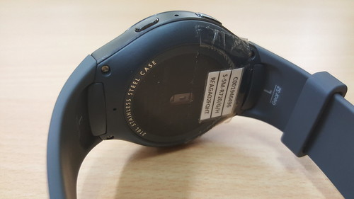 Samsung Galaxy Gear S2 ด้านหลัง