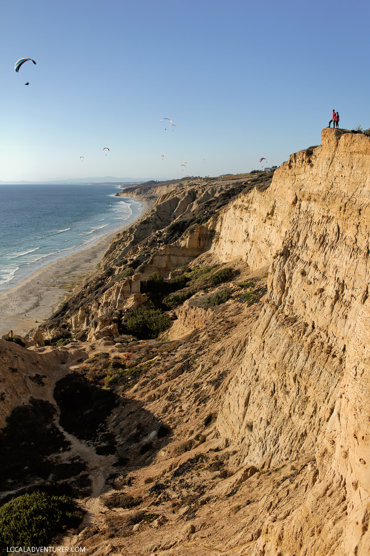 Torrey Pines Gliderport and the Ho Chi Minh Trail San Diego.