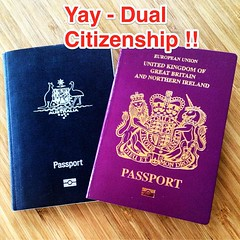 Thanks to my dads place of birth - Britain - I now have dual citizenship (Australia & Britain), this makes long term travel much easier for me!!  No more Schengen issues - happy travel days!! #upsticksandgo #travel #schegen #Europe #dualcitizenship #trave