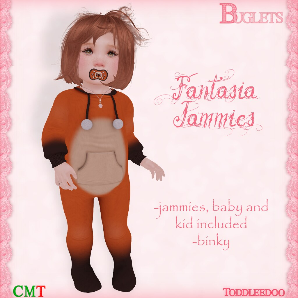 TD Fantasia Jammies AD
