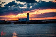 Scarborough lighthouse
