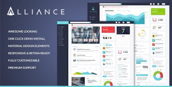 Alliance v2.1 – Intranet & Extranet WordPress Theme