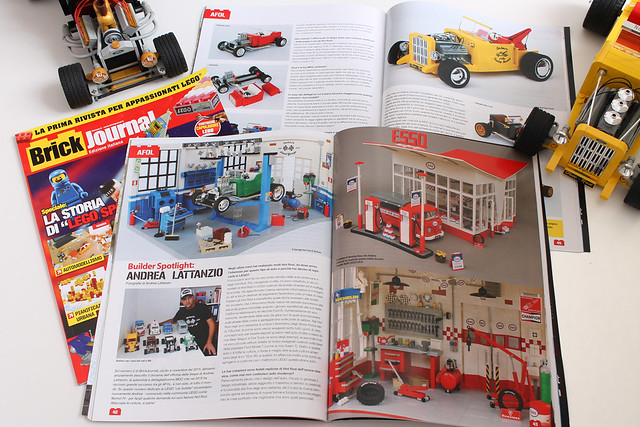 Brick Journal Italia # 6 presents Norton74's cars and garages