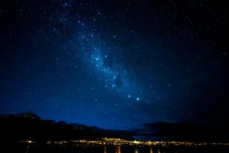 Queenstown starry sky