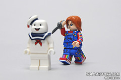 LEGO Chucky Minifigure by HOBBYBRICK