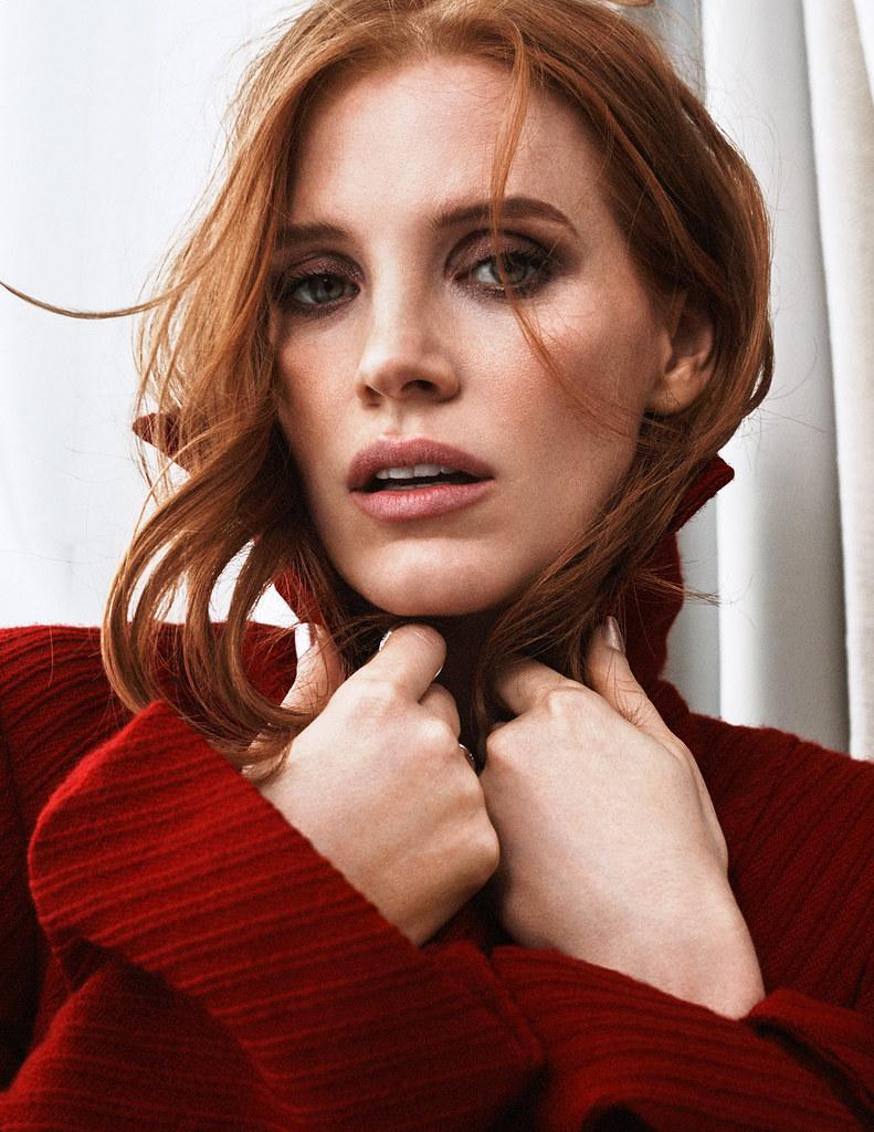 Джессика Честейн — Фотосессия для «Elle» FR 2016 – 6