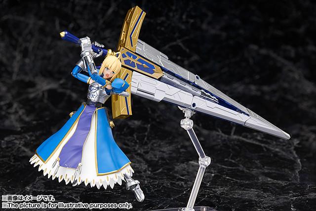 《Fate/Grand Order》AGP SABER/阿爾托莉亞・潘德拉岡&可變式約束勝利之劍(Variable Excalibur)