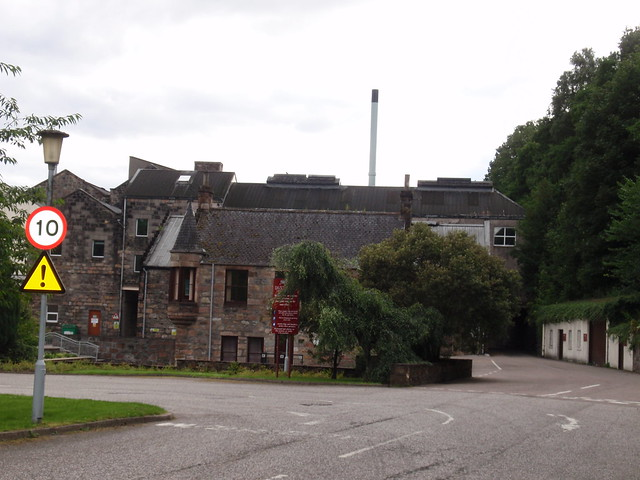 Dailuaine distillery