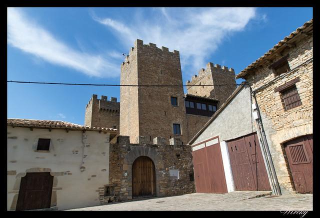 Castillo palacio de los Urriés