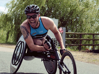 Phil Hogg F2M / SALTO Wheelchair Athlete