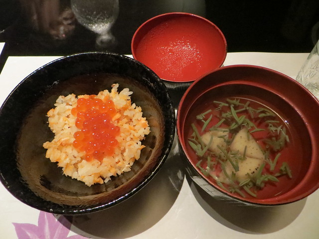 Photo:Salmon rice and clear soup By Joel Abroad