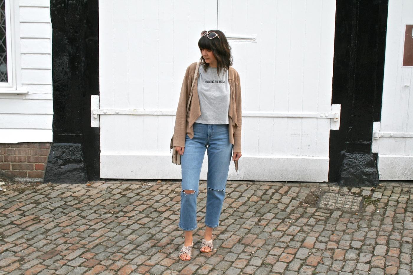 awkward length jeans