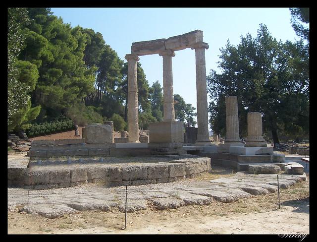 Grecia Olimpia Delfos - Philippeion