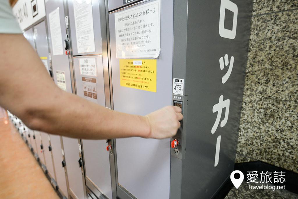东京车站置物柜 03