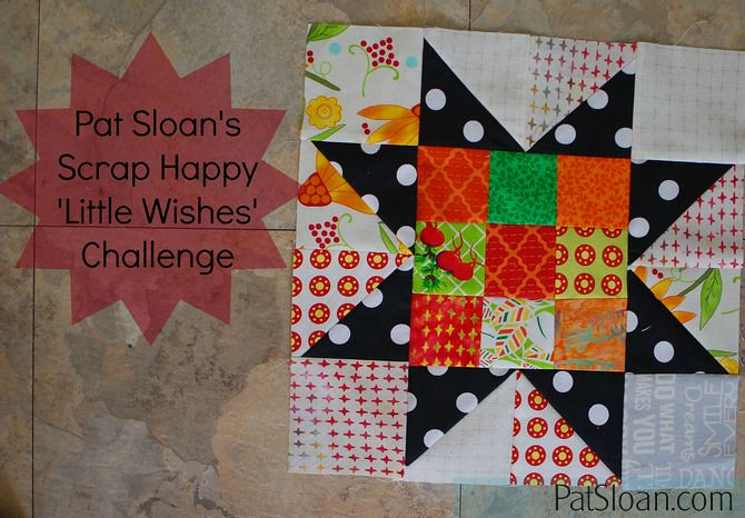 Pat Sloan Scrap Happy Little Wishes challenge