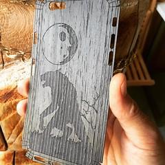 Custom cover of the day.  #iPhone #iphone6 #iphonecase #iphonesiaoftheday #warewolf