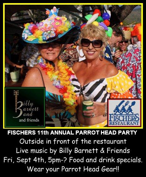 Parrot Head Party 9-4-15