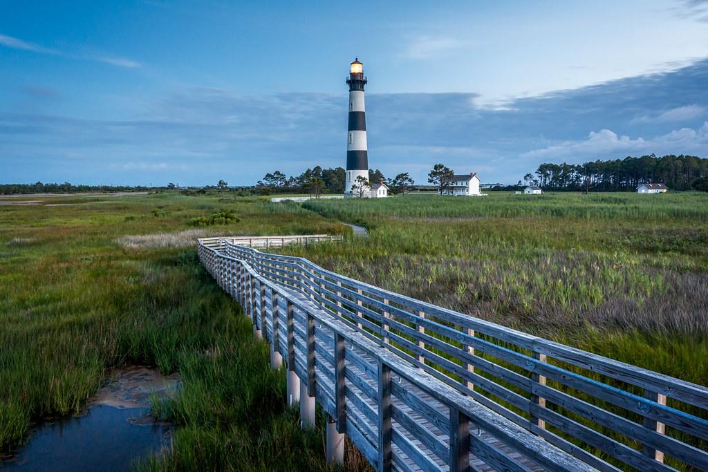 Bodie Blue... North Carolina OBX - Bodie Lighthouse [Explored]