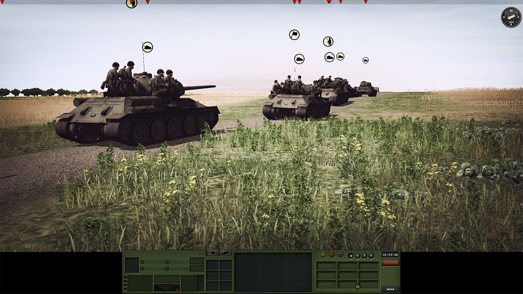 2_Combat_Mission_Red_Thunder_War_Movie_ADVANCED_mode