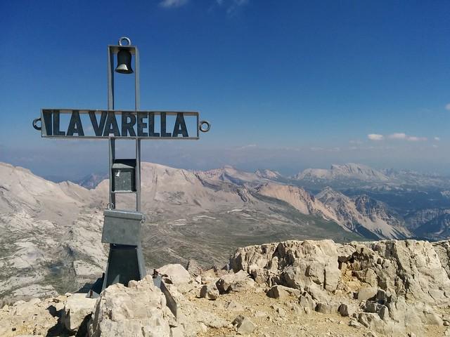 Gipfelkreuz 2. La Varella-Gipfel