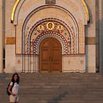 Entrada de la iglesia de San Jorge