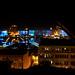 Le port de Québec illuminé