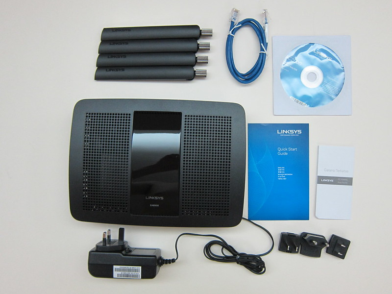 Linksys EA8500 - Box Contents